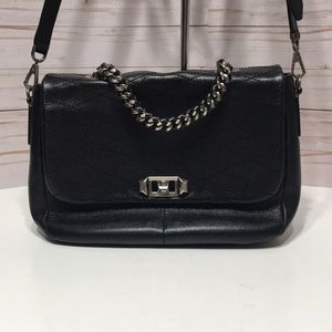 Rebecca Minkoff black handbag w handle